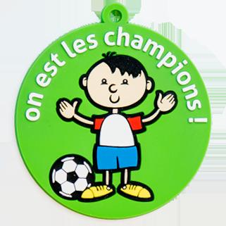insigne PVC champions