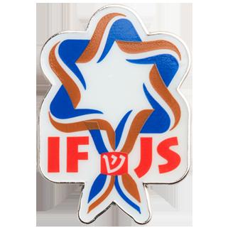 insigne métal IFJS