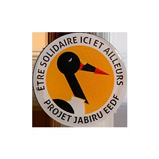 insigne métallique Jabiru