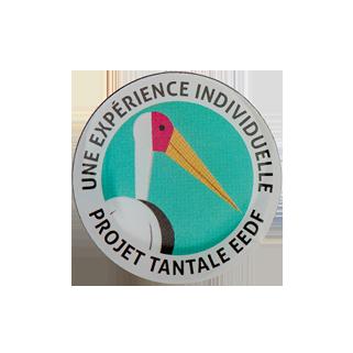 insigne métallique Tantale