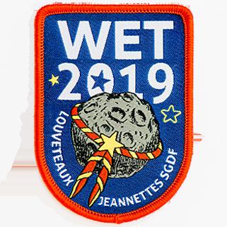 insigne tissé WET 2019