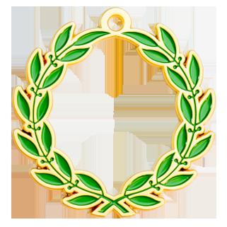 médaille lauriers