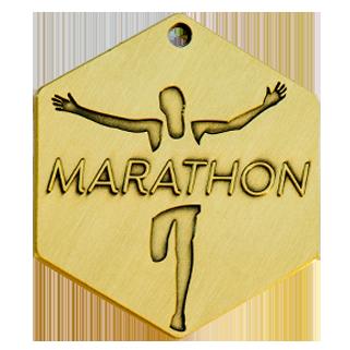 médaille vieux bronze